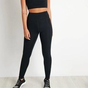 Girlfriend collective black leggings size small